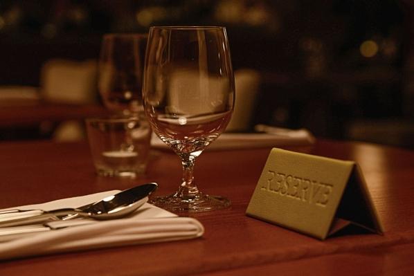 Rezervujte si stôl u nás